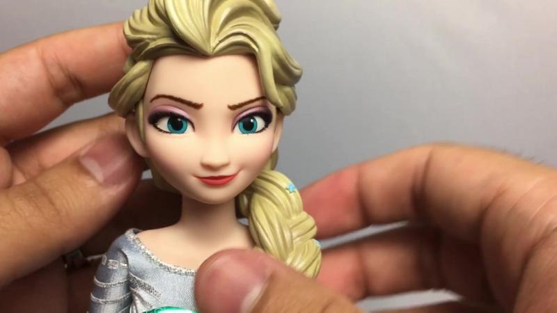 Обзор: Эльза 1/6 RAH от Medicom/Elsa (Frozen) Real Action Heroes Medicom figure Review