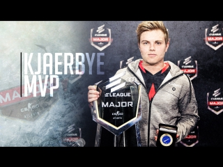 Markus Kjaerbye Kjærbye - MVP of ELEAGUE Major