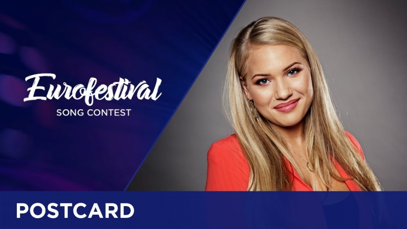 Postcard of Anja from Swed - Eurofestival Song Contest 2017