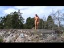 Прогулка голышом по Pihlajasaari - Финляндия.