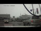 В Архангельске на перекрестке возле тц