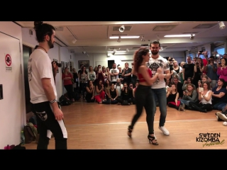 Ronie & Armanch Saleh & Marta Kizomba Dance @ Sweden Festival 2017