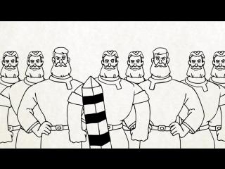 Вежливые русские кто к нам с мечом? (серия 1)