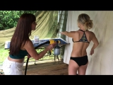 SKIN THAT IS TANNED! Watch this, Says the SASSY SPRAY TANNER! Spray tan review