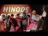 Награждение победителей на Hinode 2017.  Выступление хора 'Преображение'