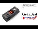 Оригинальное YIHI SXmini G Class 200W TC Бокс мод GearBest review unboxing