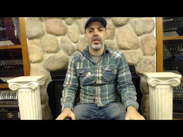 How to Play Bossa Nova on Piano Accordion - Lesson 2 - Samba em Prelúdio