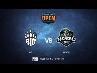 BIG vs Heroic - DreamHack ASTRO Open Leipzig - map1 - de_train [yxo, ceh9]