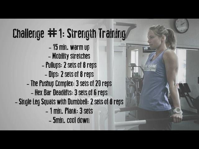 Jessie Diggins' Strength Training Challenge