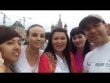Фолк-Ансамбль Дубрава Next поет песню на Красной Площади! Москва.