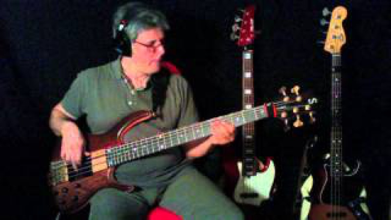 Jermaine Jackson Whitney Houston - Take good care of my heart ( MY PERSONAL BASS COVER )