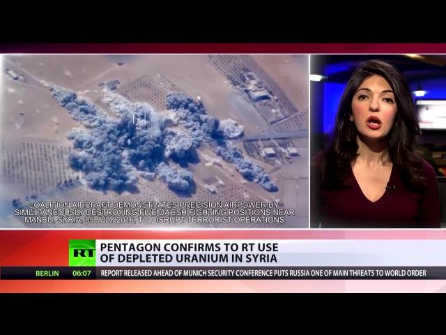 Aufgedeckt USA haben in Syrien Uran-Munition eingesetzt