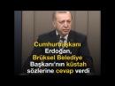 Erdoğan'dan Brükselli Lidere Çok Sert Tepki: Ben Zirveye Gidiyorum Zırvaya