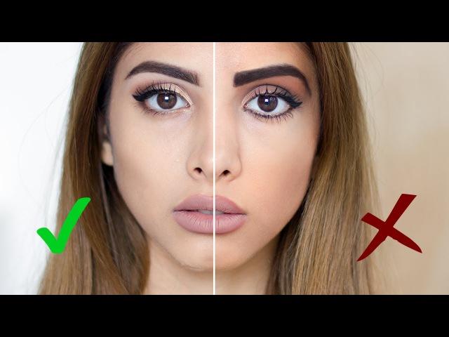 Ошибки в макияже/Как НЕ стоит краситься| Makeup Do's Don'ts