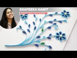 How to make paper quilling wall frames