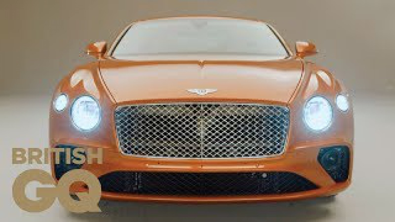 The New Bentley Continental GT: Fast And Smooth   British GQ