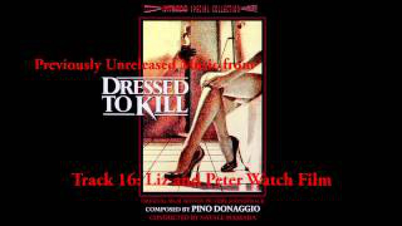 Pino Donaggio - Dressed to Kill Unreleased Music Suite