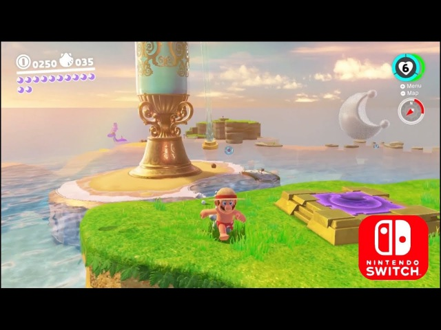 Super Mario Odyssey - New levels Gameplay Direct Feed/Snapshot mod Nintendo Switch Full HD 60Fps