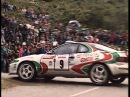 Celica GT4 Rally Footage - ST165 - ST185 - Raw Sound!