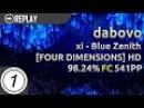 Dabovo xi - Blue Zenith FOUR DIMENSIONS HD FC 98.24 541pp 1