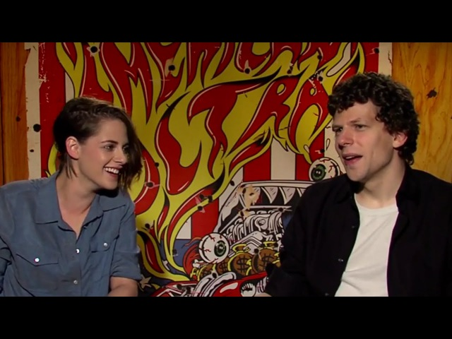 American Ultra's Jesse Eisenberg and Kristen Stewart Play Is it a Weapon?