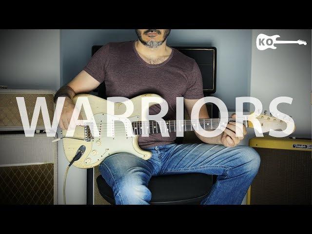 Imagine Dragons - Warriors - Electric Guitar Cover by Kfir Ochaion