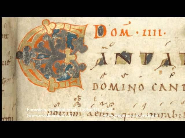 Introitus: Cantate Domino canticum novum