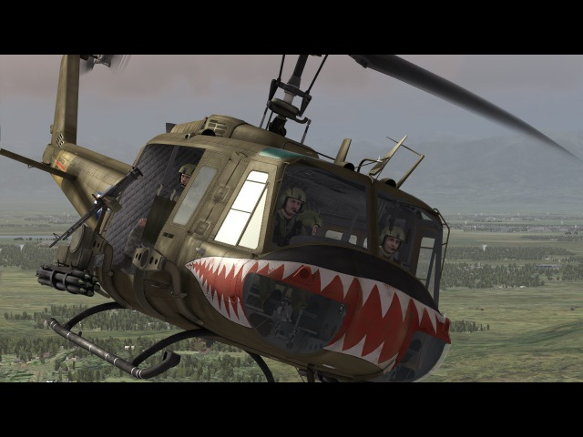 Fortunate Son CCR added UH 1 Huey Effect
