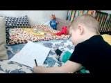 Юный художник.