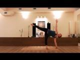 Связка на укрепление мышц спины и  ног. Светлана Судьина.
