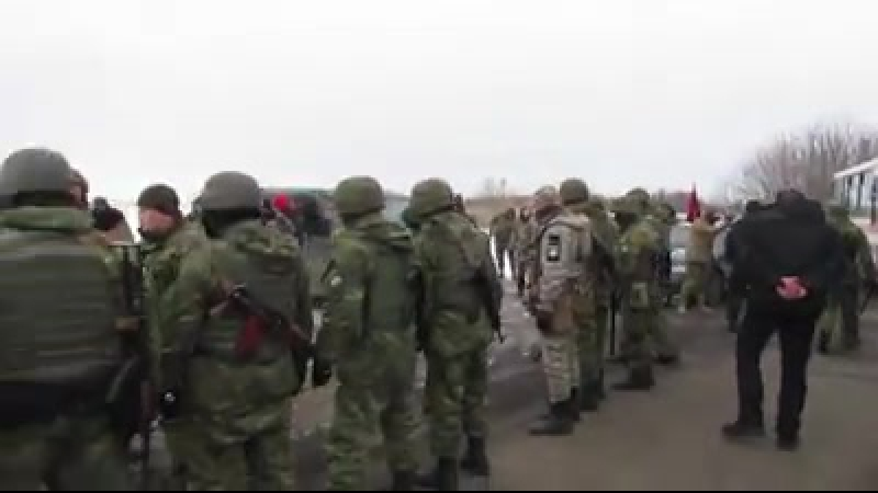 Блокада Семенченко vs Аброськін