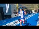 Alpe D'Huez triathlon - FINISH
