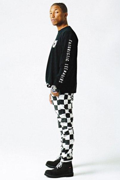 Pharrell Williams Models HUMAN MADE For 'SENSE' Magazine 2017 Spring/S