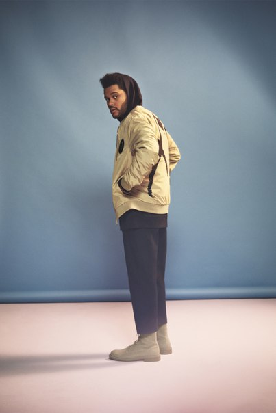 The Weeknd Models H&M's 2017 'Spring Icons'