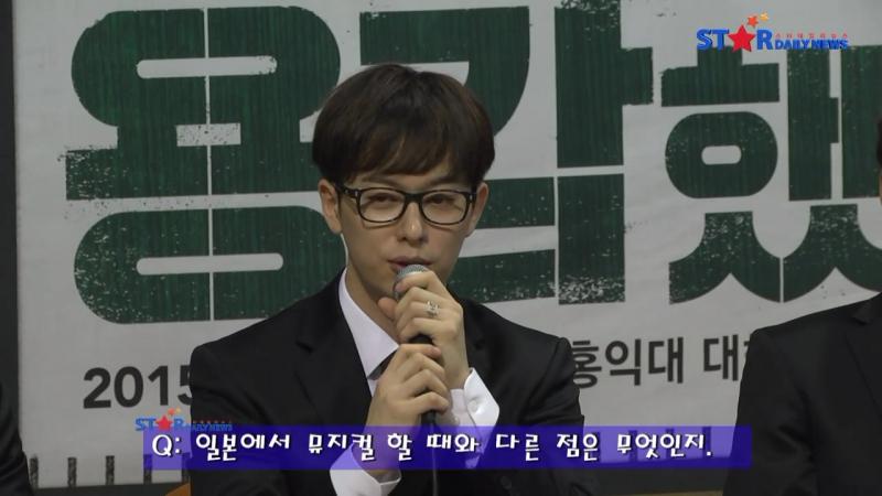 [Мюзикл|VK][18.08.15] Интервью у Донхёна в честь выхода мюзиклаBrothers were brave