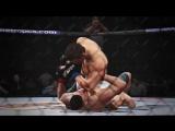 Видеоигры VINEGRETа: UFC II, официальный трейлер 18+, показывающий gameplay игры.