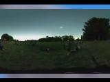 Реакция девочки на первое за 100 лет полное солнечное затмение в США