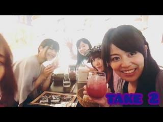 Сейю группы Roselia в кафе, посвященном игре BanG Dream! Girls Band Party! (2 версия)