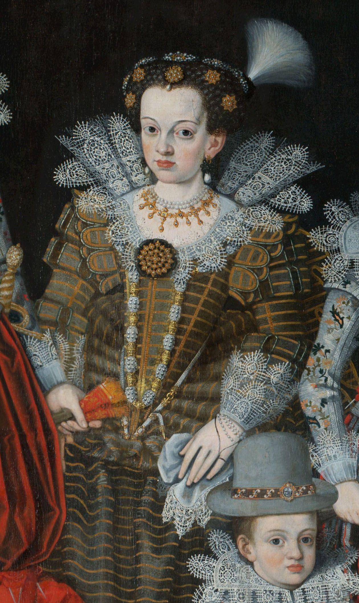 Пять принцесс Гессен-Кассельских на разных портретах