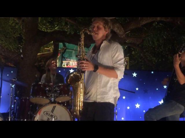 Acid Jazz Band @ Night Market, Arpora, Goa