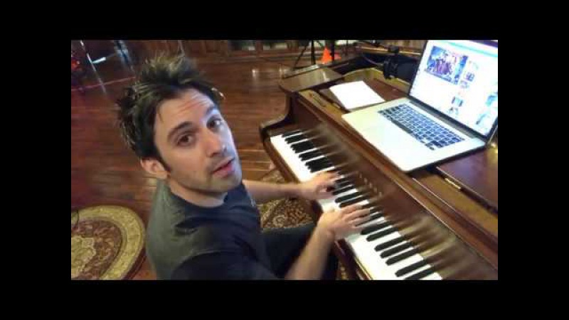 Live! Request a song and Scott Bradlee will play it on the piano