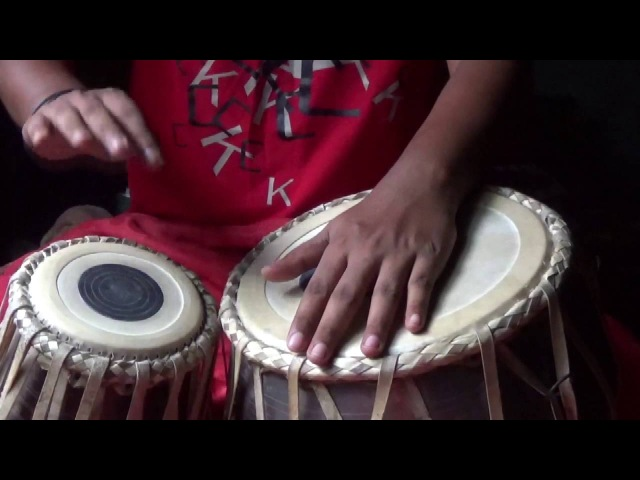 Tabla Tutorial, Tabla Lessons for beginners Part 05 TERE KETE TA KO