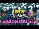 BTS TOP SOCIAL ARTIST 2017 BILLBOARD MUSIC AWARDS BBMAs ARI RANG