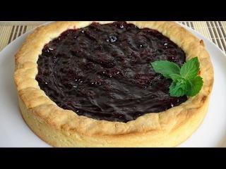 Пирог вишнёвый. Как испечь вкусный пирог с вишней.
