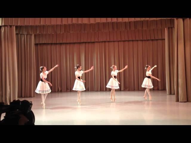Прялки из балета Коппелия Академия Русского Балета