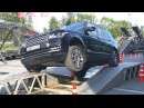 Федеральный тестдрайв Jaguar Land Rover tour 2017 в Тюмени.