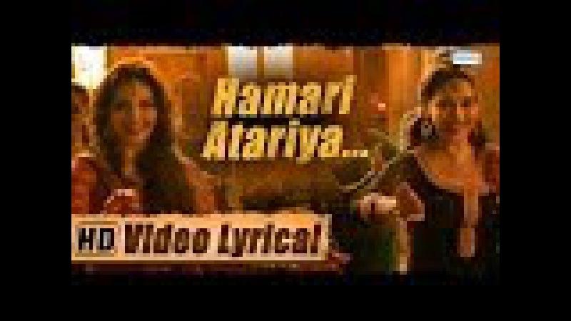 Hamari Atariya   Lyrical   Madhuri Dixit - Huma Qureshi   Dedh Ishqiya   HD