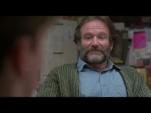 When did you know she was the one for you? Good Will Hunting
