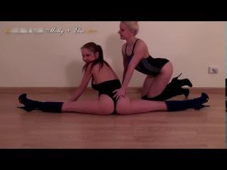 Yoga Girl Flexible Girl Teen Sexy Yoga Personal Trainer #1