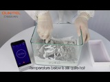 OUKITEL K10000 MAX torture test in lime water and cement water